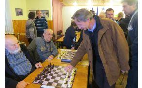 Andrej Čas, župan MO SG je na DP premaknil prvo šahovsko figuro
