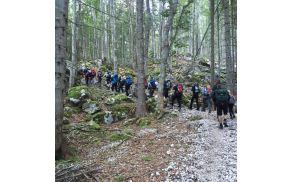 Pa smo planinci PD Slovenj Gradec  zagrizli proti Triglavu