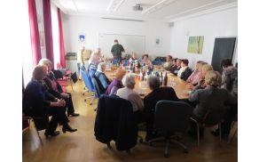 Na srečanju s starostniki je na Občini Preddvor vedno veselo (foto Media butik)