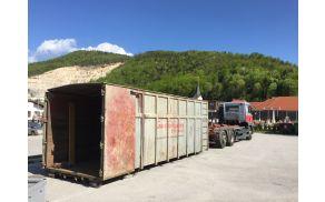 Kontejner za kosovne odpadke