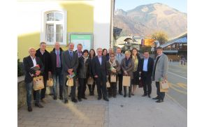 Zadovoljstvo ravnateljev in županov po delovnem srečanju v Preddvoru (foto Media butik)