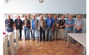 Zasluženi pokali in medalje za najboljše tekmovalce