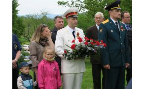 Polkovnik Alexander Krasnov (desno) in  Sergeje Banin Foto:S.Mirtič