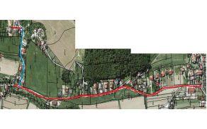 Načrt kanalizacije - trasa