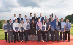 """""""Diplomanti FINI so razvojni potencial družbe."""" Svečana podelitev diplom, Pule, 2016"""