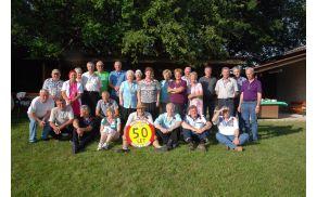Še skupinska slika za spomin. Foto: Bogdan Kralj