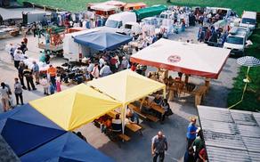 Sejem v Mirni Peči se vsako prvo soboto v mesecu odvija na parkirišču pri poslovni stavbi Cesar