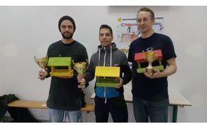 Najboljši iz Sevnice: Tim Weisseisen, Bernard Rjavec in Bernard Škrlep