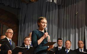 Koncert je povezovala Nuša Fabjan