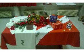 Božičkova miza