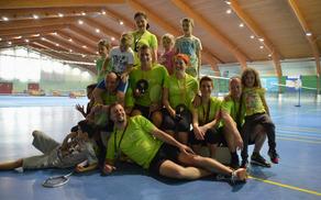 Ponovno uspešni v badmintonu