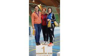 Zmagovalke Katja, Nina in Urška