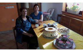 Pravi mojstrici, gospa Olga in snaha Tjaša