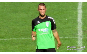 Denis Gamilec je dosegel edini gol za Veržej