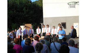 Zaključek kulturnih dnevov pod Globočakom.  Foto:Dora Ravnik