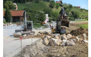 Izvajanje projekta na terenu