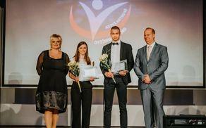 Katja in Tilen – športnica in športnik občine Kidričevo za leto 2017