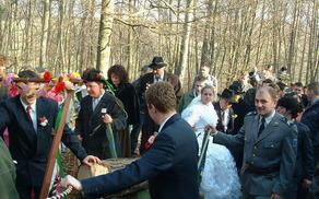 Borovo gostüvanje v Križevcih leta 2002