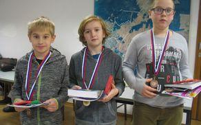 zmagovalci Teo Cimperman Jernej Zidar Martin Perme