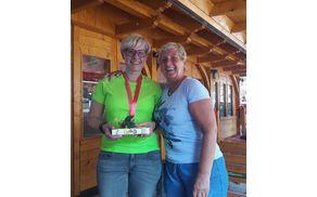 Barbara Justin je pravljično sedma članice FB skupine Mengeška 100krat, ki se je v letu 2017 na Mengeško kočo povzpela 100 krat