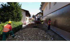 V septembru na Ropretovi cesti končana gradnja kanalizacije in hišnih priključkov