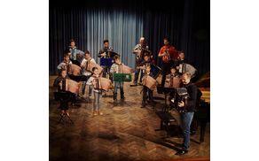 Harmonikarski orkester glasbene šole Polton