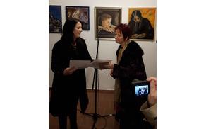 Podelitev 2. nagrade Marceli Kopitar