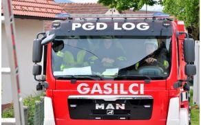 Ekipa PGD Log AC na Brezoviškem gasilskem rallyju