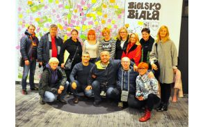 Udeleženci mednarodnega izobraževanja v poljskem mestu Bielsko Biała