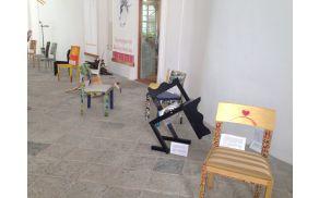 Umetniški stoli v Radovljiški graščini