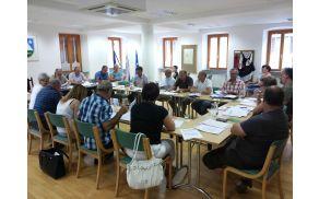 7. redna seja Občinskega sveta Občine Kobarid. Foto: Nataša Hvala Ivančič