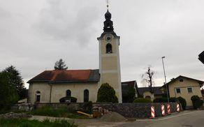 Cerkev Sv. Klemena v Tupaličah in obnova obzidja