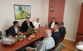 Na obisku v srbski občini Blace