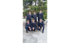 Gasilci iz Gasilskega poveljstva občine Mirna Peč