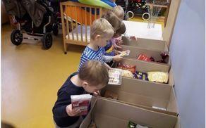 Urejanje in razvrščanje hrane po namenu