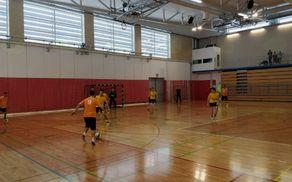 Prvak lige Paradiž v enem izmed napadov proti ekipi ŠD Šentjanž