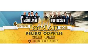 4. LogaLajf - Modrijani, Pop Design