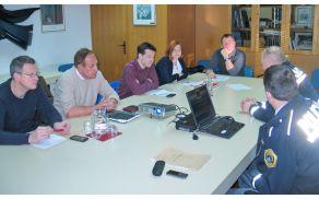 Delovnega razgovora se je udeležil tudi direktor Medobčinske uprave občin Bovec, Kobarid, Tolmin in Kanal ob Soči