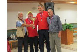 Zaključni turnir pikado lige DI Koroške - na 2. mesto se je uvrstila ekipa iz DI Slovenj Gradec