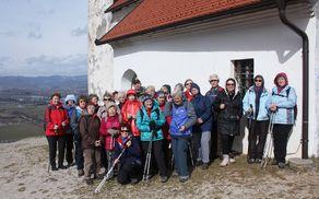 Slika za spomin na obisk Sv. Ane
