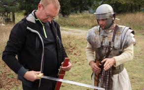 S takšnimi meči so Rimljani osvojili svet.