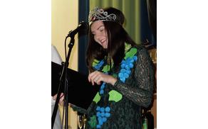Lara Ofentavšek, prva borovniška vinska kraljica