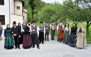 Foto: arhiv Folklorne skupine Kal nad Kanalom