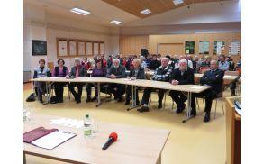 Člani zbora in gostje
