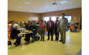 Območno tekmovanje invalidov v šahu - posamezno v organizaciji DI Slovenj Gradec