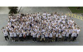 Udeleženci in mentorji Poletnega tabora inovativnih tehnologij 2015