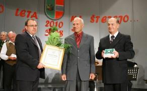 Lanski dobitnik Zlatega vojniškega grba za leto 2010 Jože Železnik