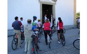Blagoslov koles pred cerkvijo sv. Lenarta
