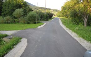Cesta Trnovlje - Socka