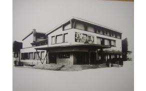 Kulturni dom Deskle pb odprtju. Foto: Arhiv KD Svoboda Deskle